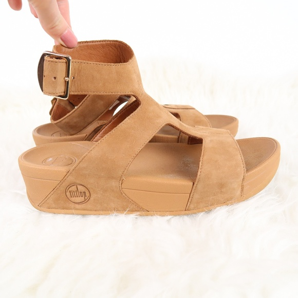 697f32153c6 Fitflop Shoes - Fitflop Arena Gladiator Nubuck Leather Sandals 6